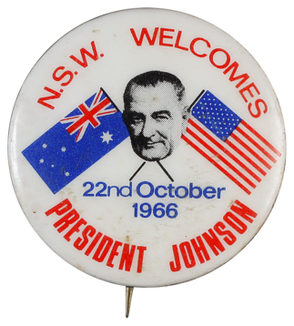 N.S.W. welcomes President Johnson
