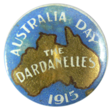 The Dardanelles, Australia Day 1915
