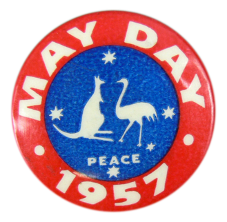 Peace, May Day 1957