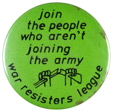 Join the people who aren't joining the army