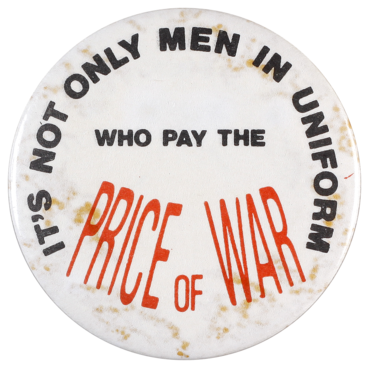 It's not only men in uniform who pay the price of war
